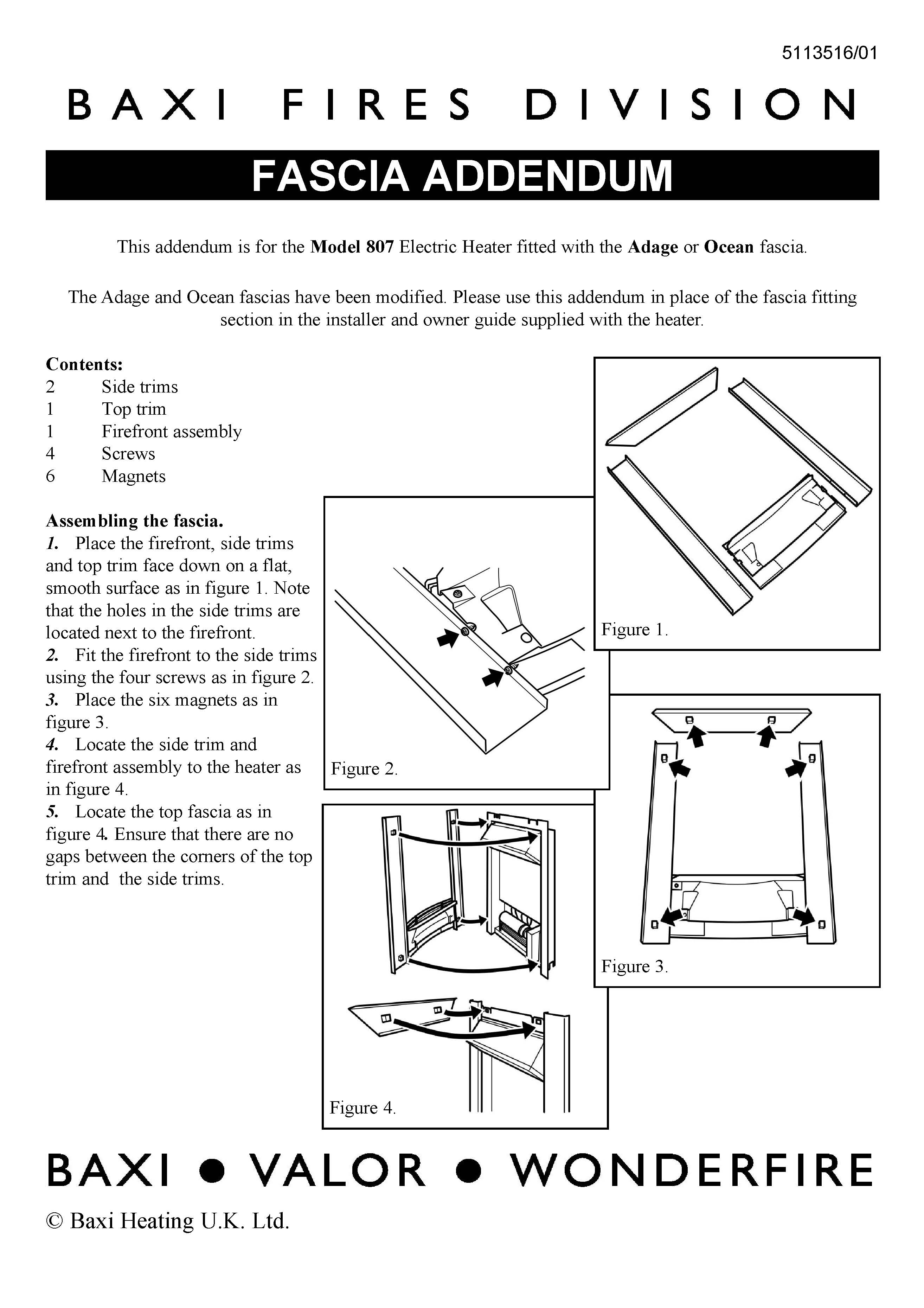 Free Baxi Fires & Fire Fronts Manual Download